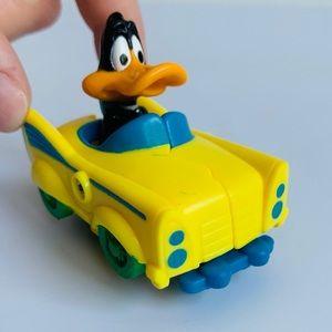 NEW 1992 Looney Tunes Quack-Up Cars